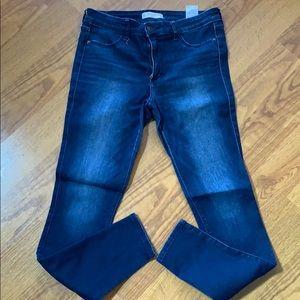 Abercrombie & Fitch skinny jeans.